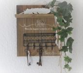 Nr. 53 Schlüsselboard Vintage 27 x 31 x 10.5 cm Preis 58.-