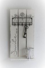 Nr. 397 Wandregal Shabby Chic 25 x 50 x 10 cm Preis 65.-
